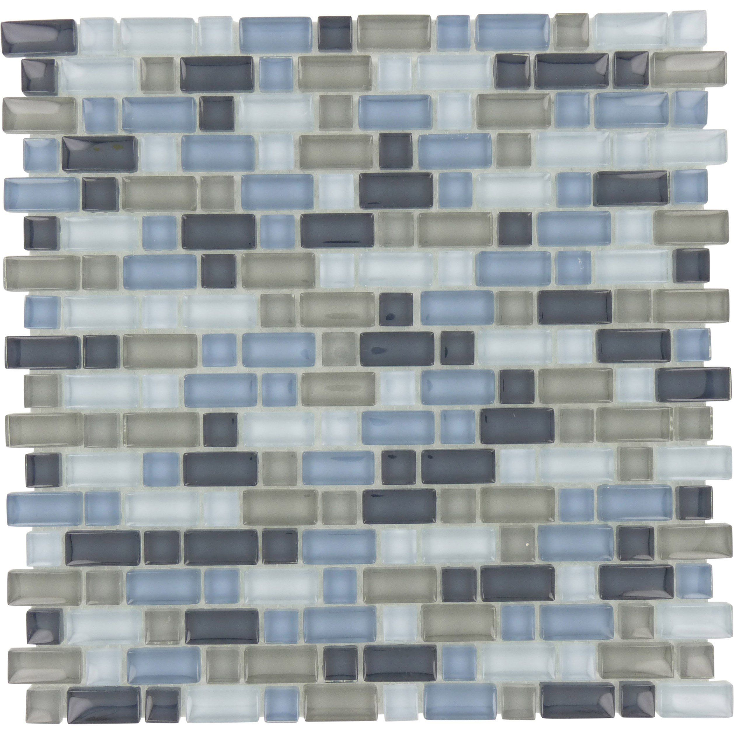 Sheet Size 12 X 12 Tile Size Variable Tile Thickness 1 4 Nominal Grout Joints 1 8 Sheet Mount Mesh Backed Glass Tile Tiles Mosaic Tile Sheets