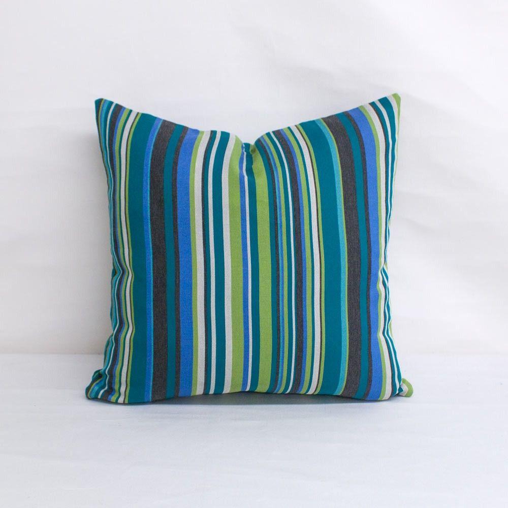 Indoor Outdoor By Mayer Sunbrella Infinity Peacock 18x18 Throw Pillow Quick Ship Throw Pillows Peacock Throw Pillows Pillows