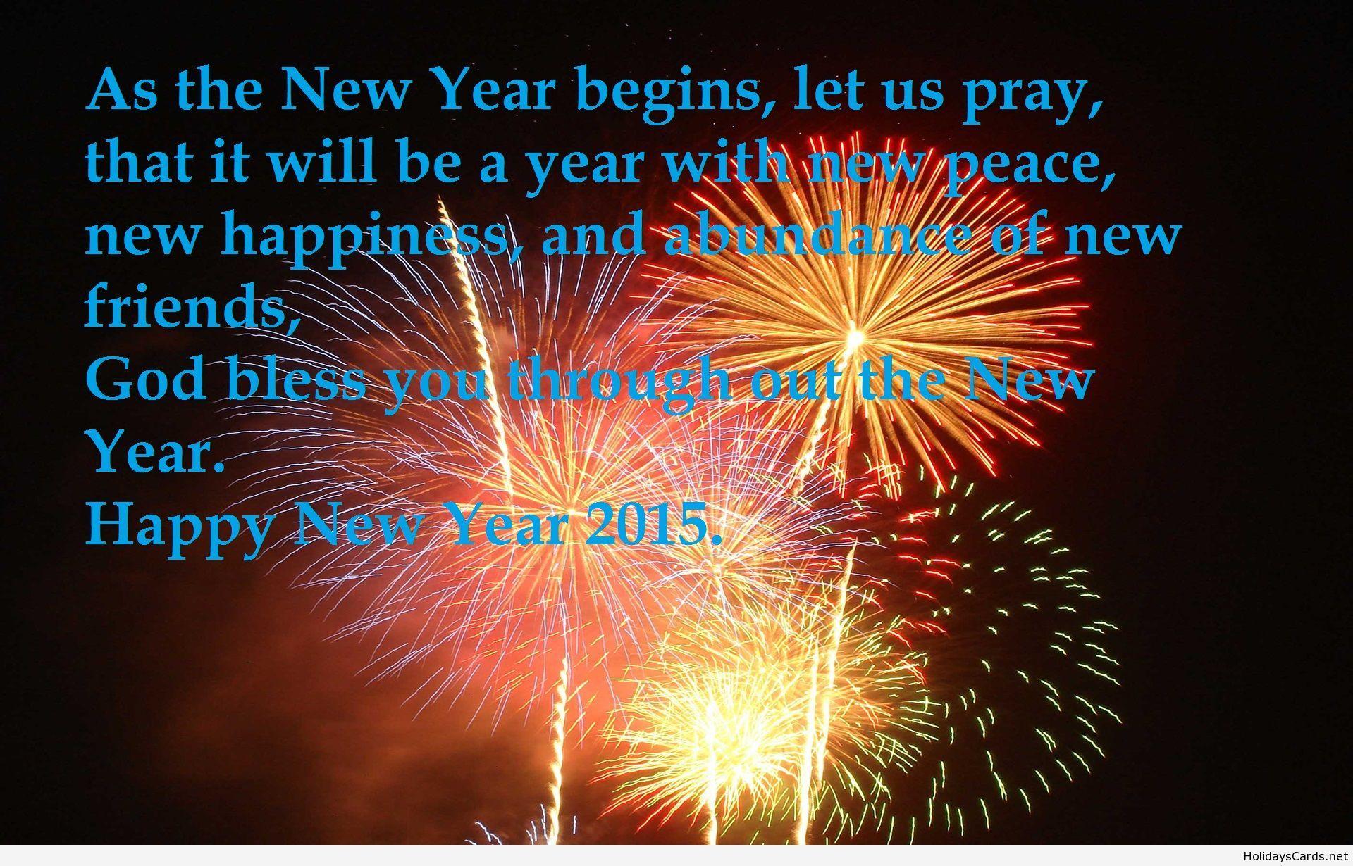 new year pray message
