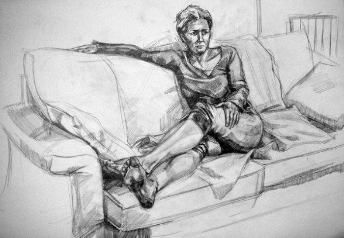 Oturan Figür çizimi Imgesel Için Pinterest Figure Drawing