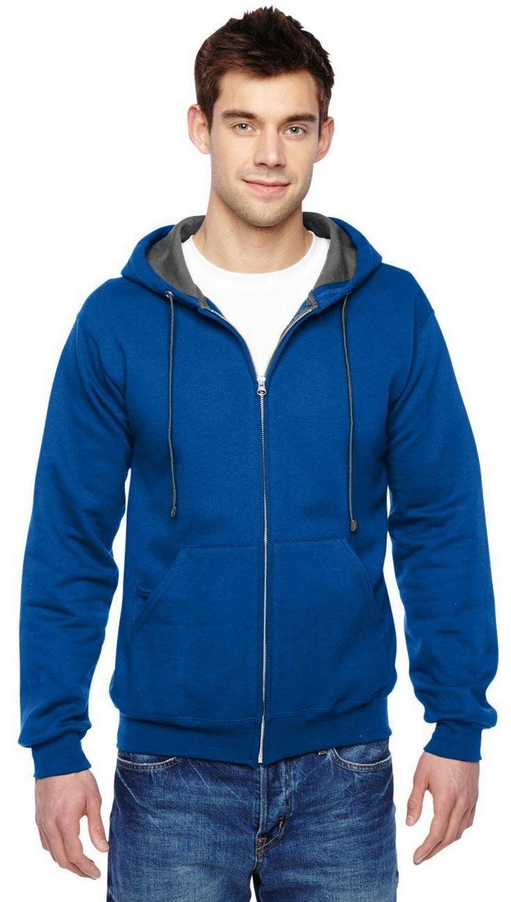 0fae320d Unisex Sofspun Full-Zip Hooded Sweatshirt | Men's Fashion | Hooded ...