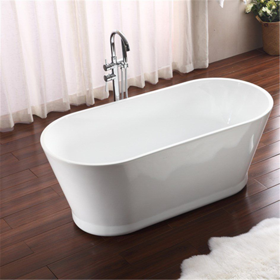 Badkar Bathlife Ideal Retro Fristående Vit