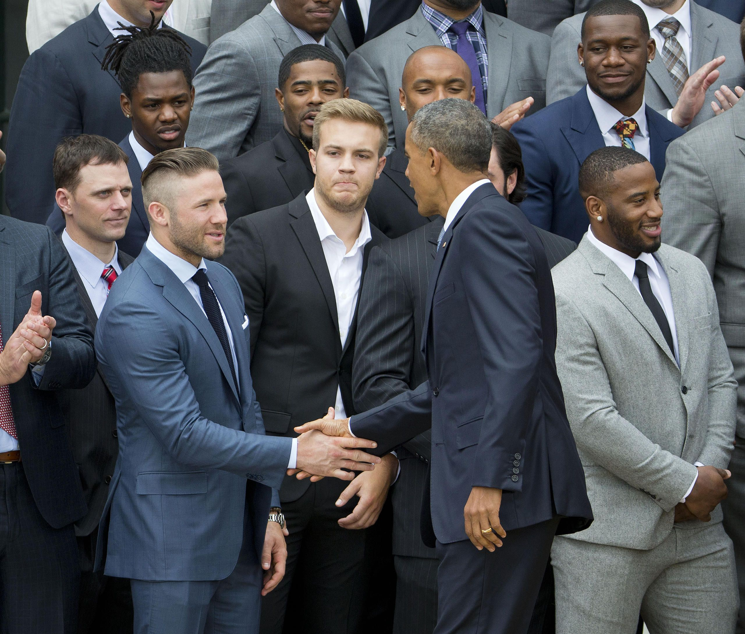 White House Social Roundup Julian Edelman New England Patriots Merchandise Edelman Patriots