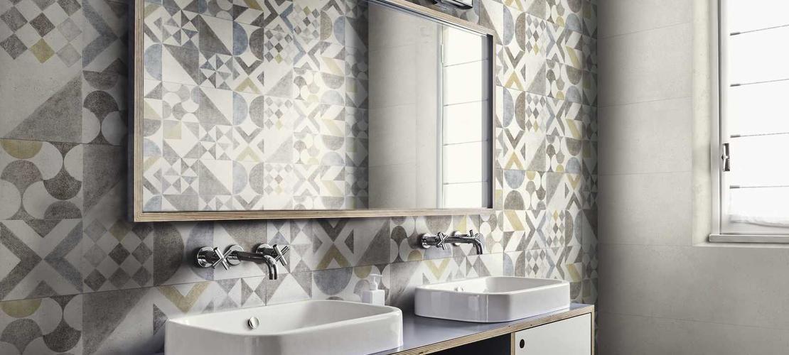 Ragno Carrelage Framed Bathroom Mirror Tile Bathroom Bathroom