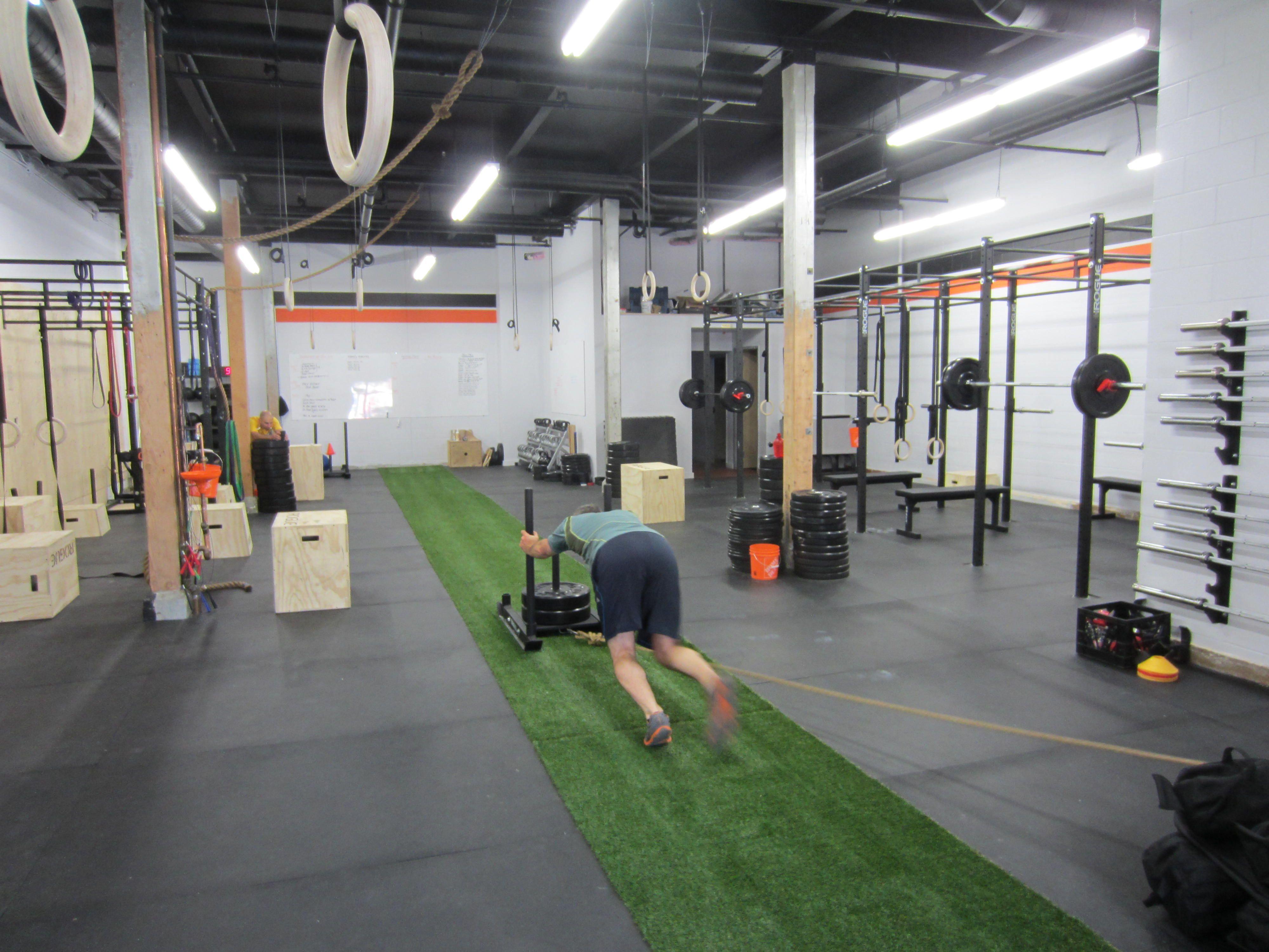 CrossFit Gym Interior