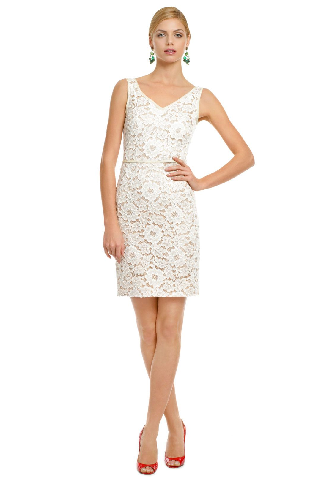 Moschino So Sweet Lace Sheath Beautiful For The Bride Going Away