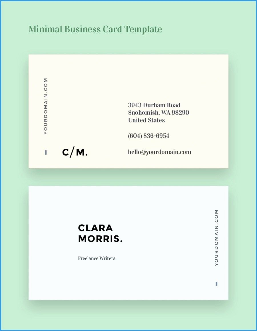 Business Card Template Word 2010 Best Of Business Cards In Word Admirably Business Card Template Name Card Design Minimal Business Card Cool Business Cards