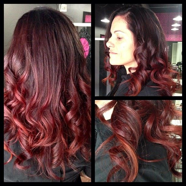 Could I Pull Off This Red Plum Hair Is This Too Dark For Me