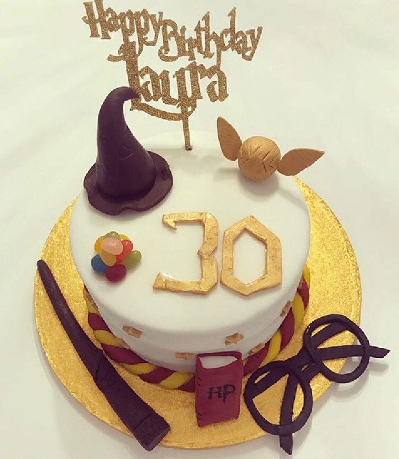 Harry Potter 30th Birthday Cake Cake 30 Birthday Cake Birthday Cake