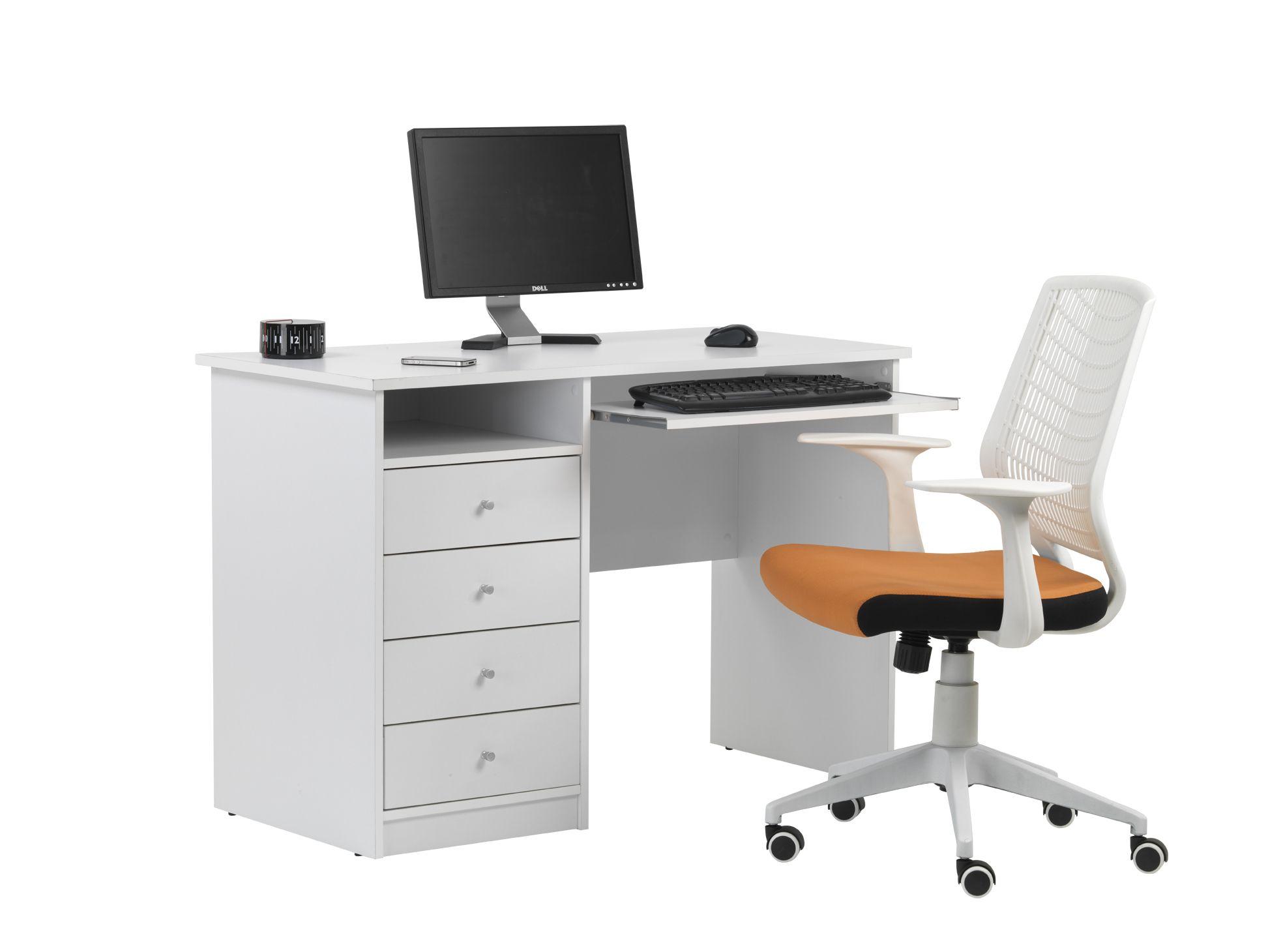 White Student Desk Dimensions Width 110cm N W 34 8kg Depth
