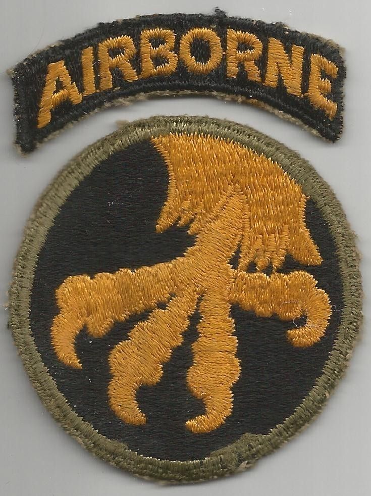 US ARMY 101st AIRBORNE DIVISION DESERT PATCH REVERSED FACING RIGHT USA-6