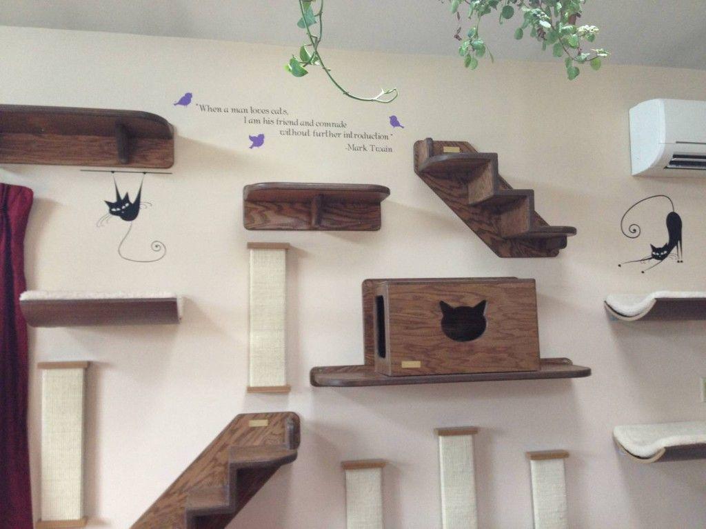 Great 11 Bilder På Hur Du Skämmer Bort Din Katt. Cat CastleHome Decor IdeasCat ...