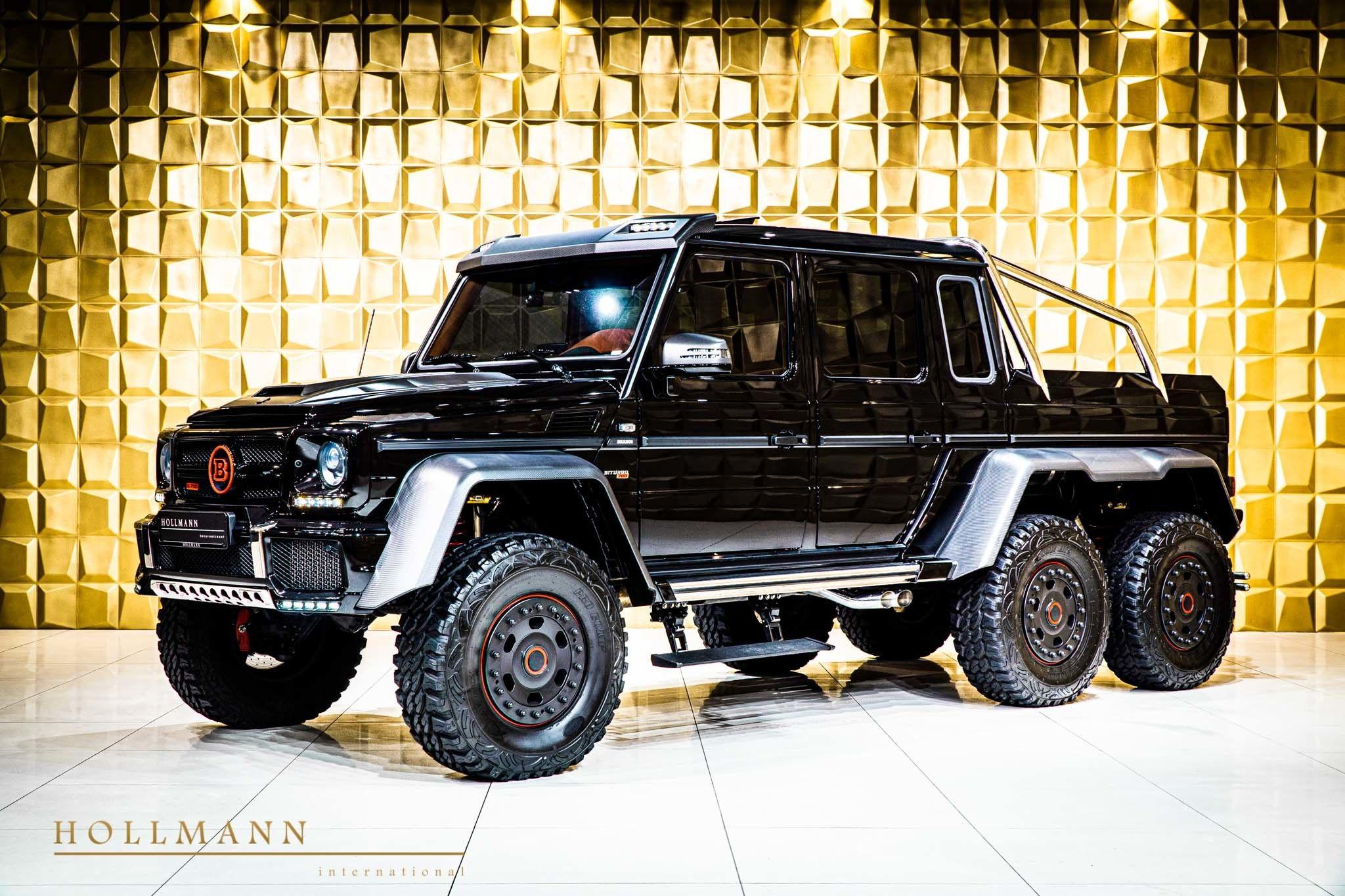 Mercedes Benz G 63 6x6 Amg Brabus 700 Hollmann International