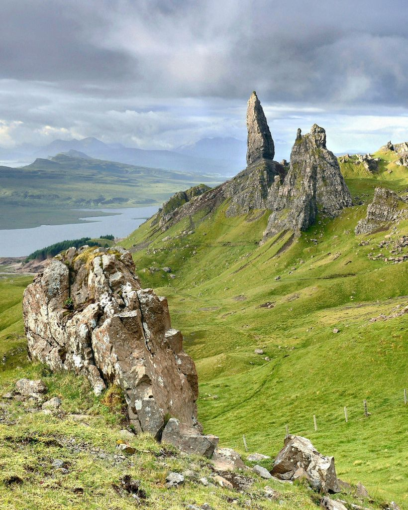 Old Man of Storr, Isle of Skye, Scotland by Anthony Thomas Johnstone