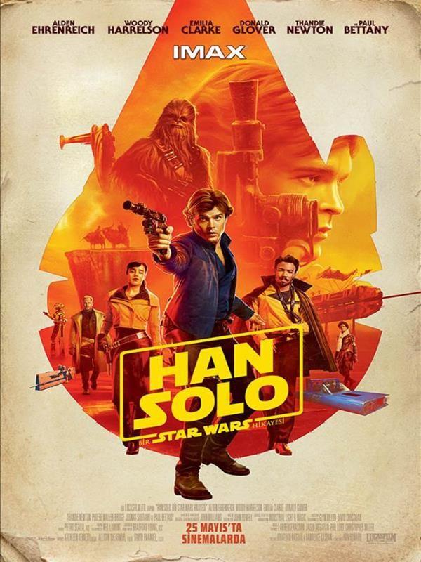 Han Solo: Bir Star Wars Hikayesi 2018 Bilim Kurgu Filmi İzle | Star wars poster. Star wars sanatı ve Star wars