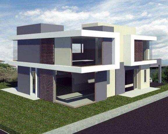 Fotos de fachadas de casas esquineras modernas