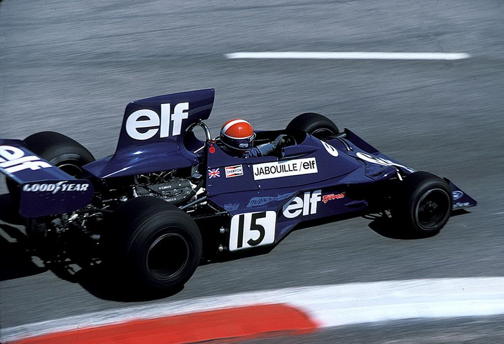 JeanPierre Jabouille (TyrrellFord 007), 1975 French GP