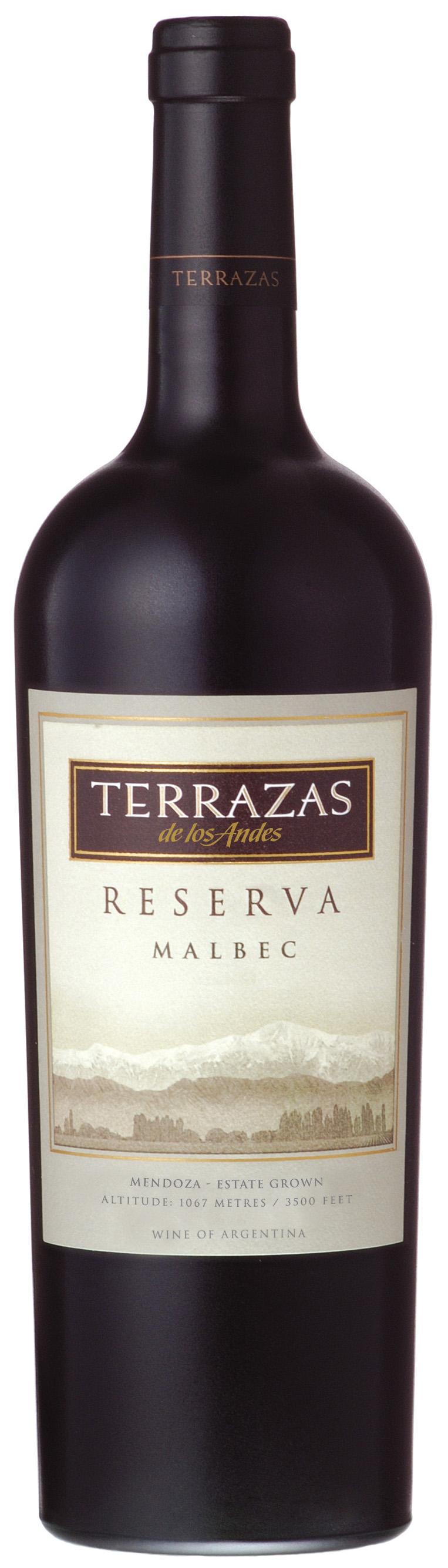 Vino Terrazas De Los Andes Vino Argentina Mendoza Red Wine