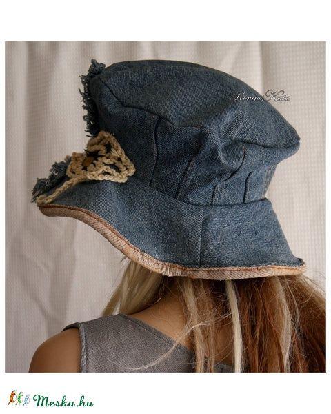 d4ab8af9d HIPPI-kalap - bohém design-kalap - farmerkalap, Ruha, divat, cipő ...
