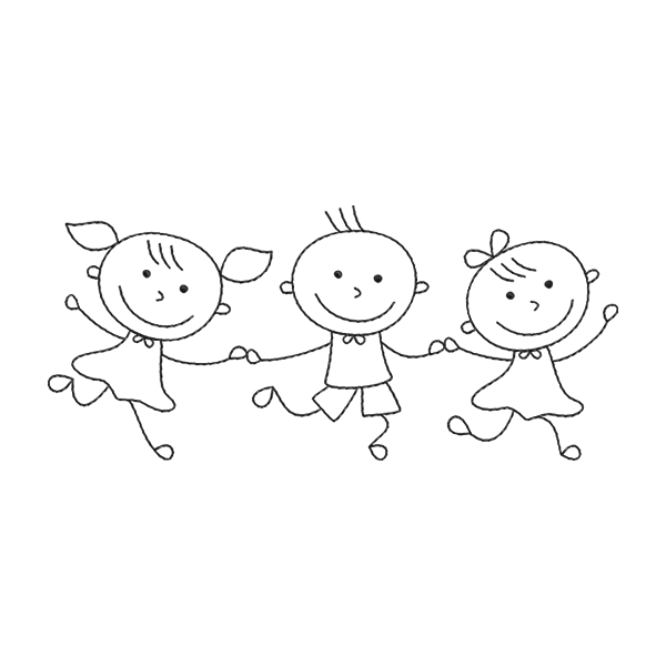 Criancas Desenho De Crianca Criancas De Maos Dadas E Coisas