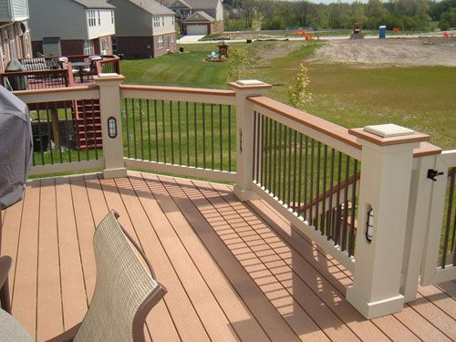 Awesome Michigan Trex Decks Pictures | Down Home Construction | Garden City MI
