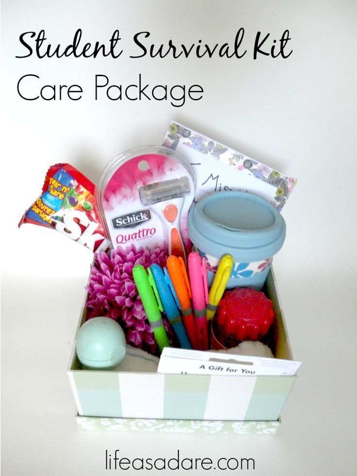 College Care Package Ideas for Guys Care packages for