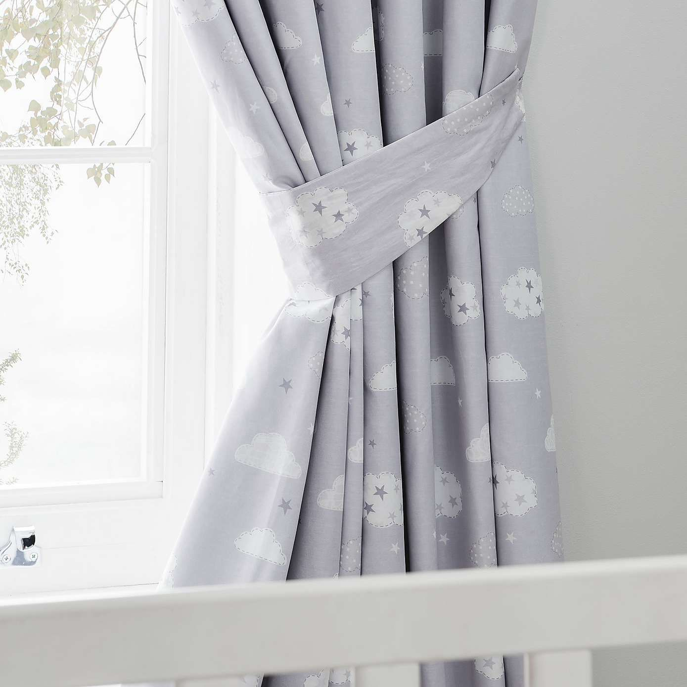 Sweet Dreams Blackout Pencil Pleat Curtains Childrens