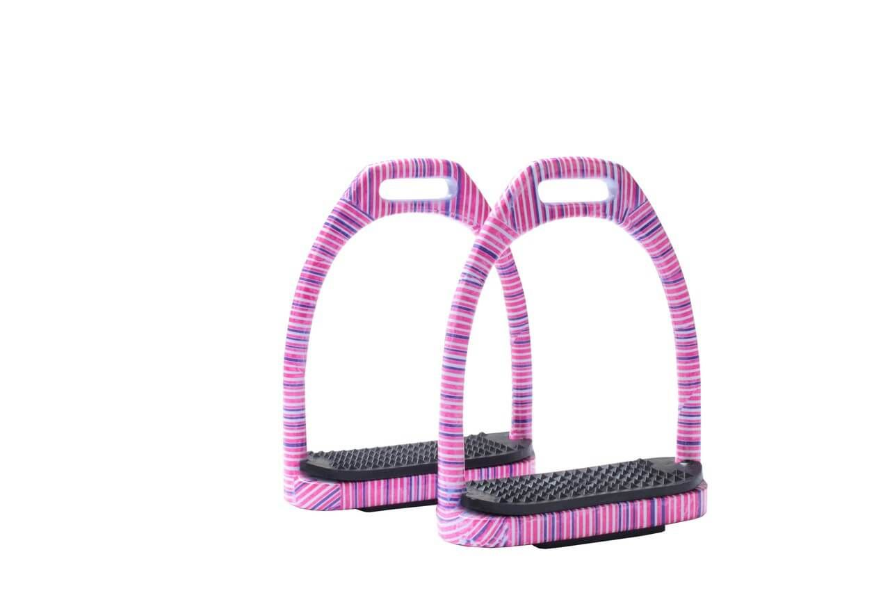 Horka Horse Riding Rubber Angled Treads For Fillis Stirrups Riding Accessories