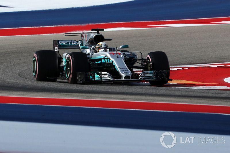 Lewis Hamilton Mercedes Benz F1 W08