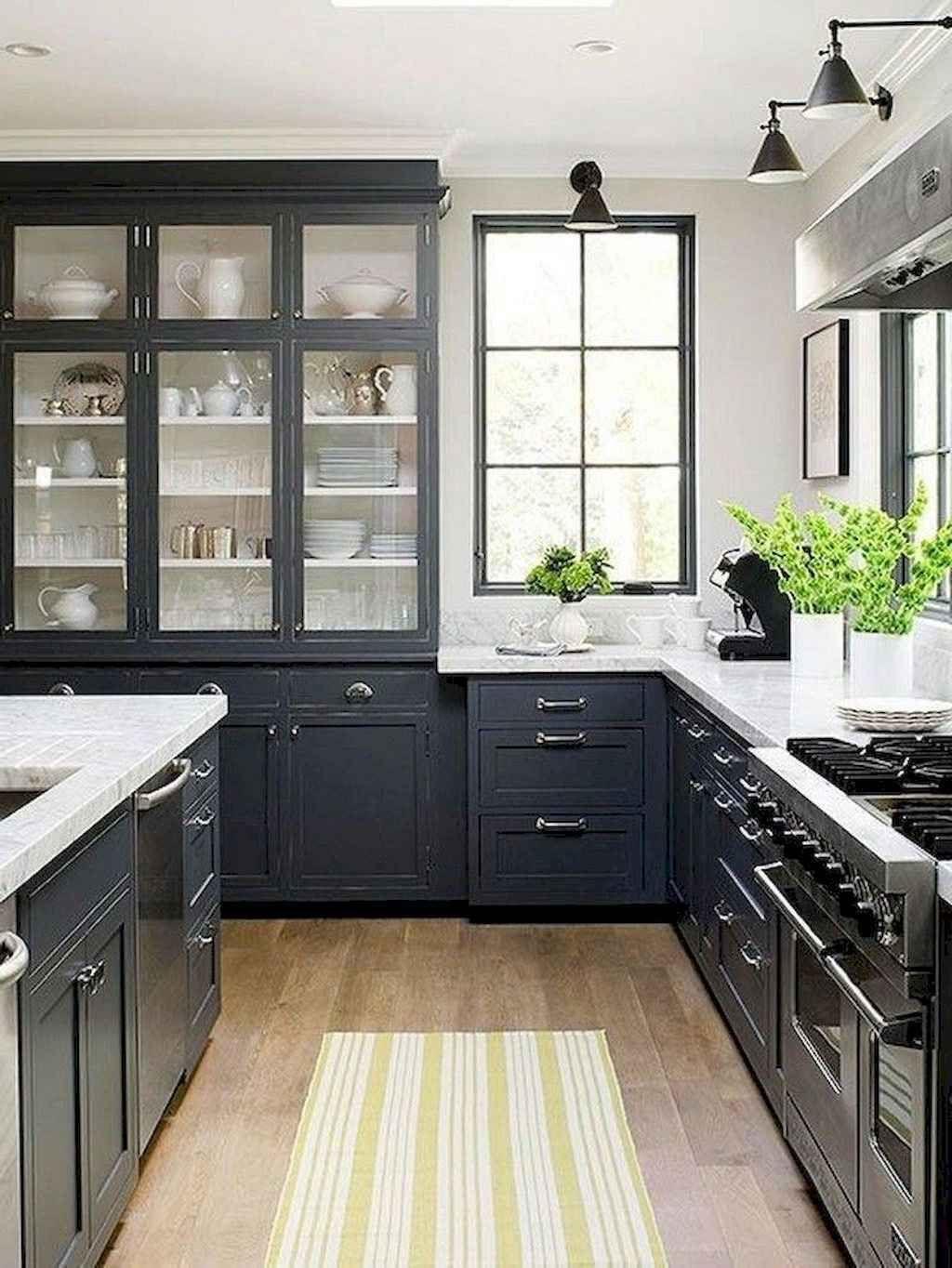 50 modern farmhouse kitchen cabinet makeover ideas kitchen design black kitchen cabinets on kitchen ideas gray id=79288