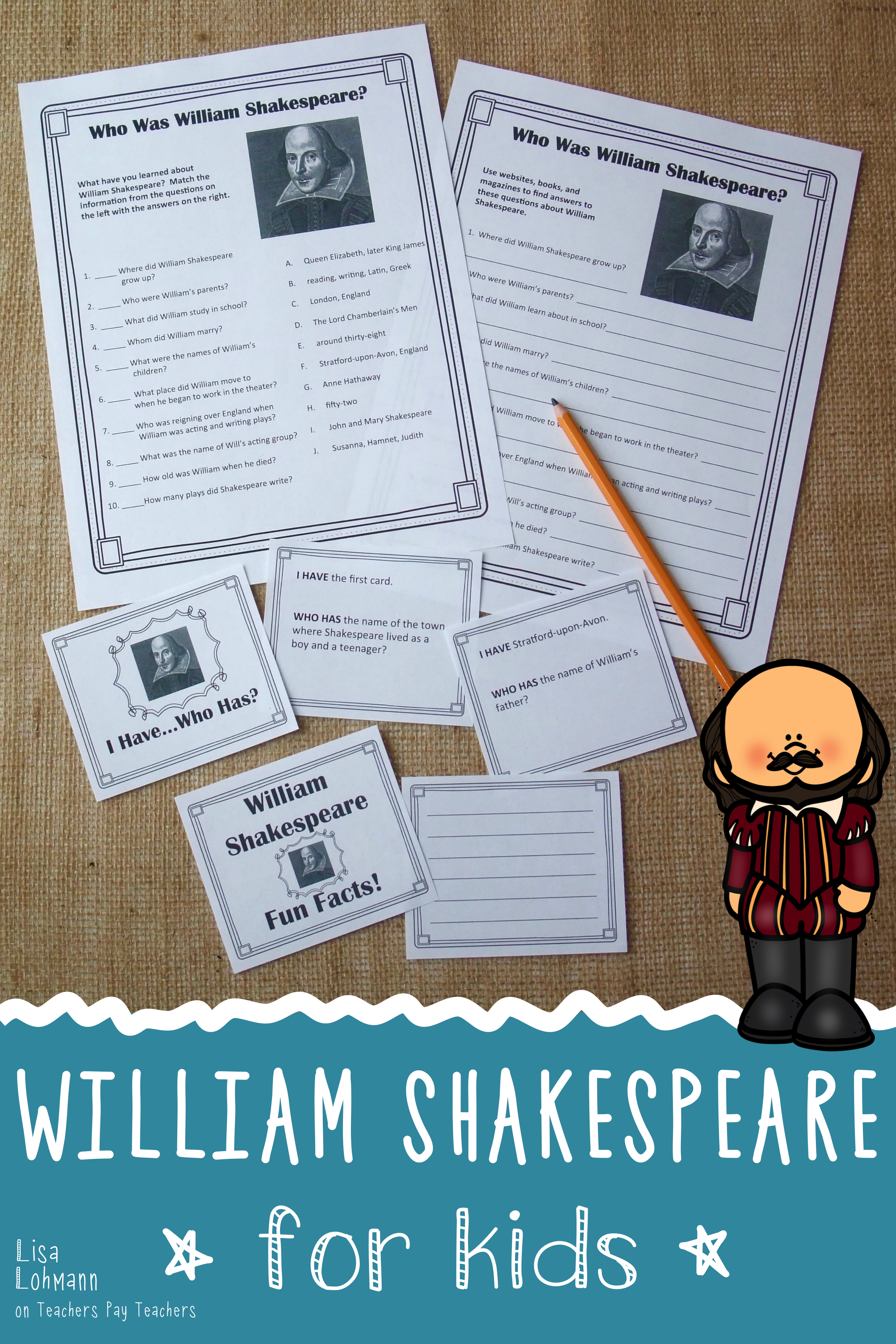 William Shakespeare Introduction For Kids With Images