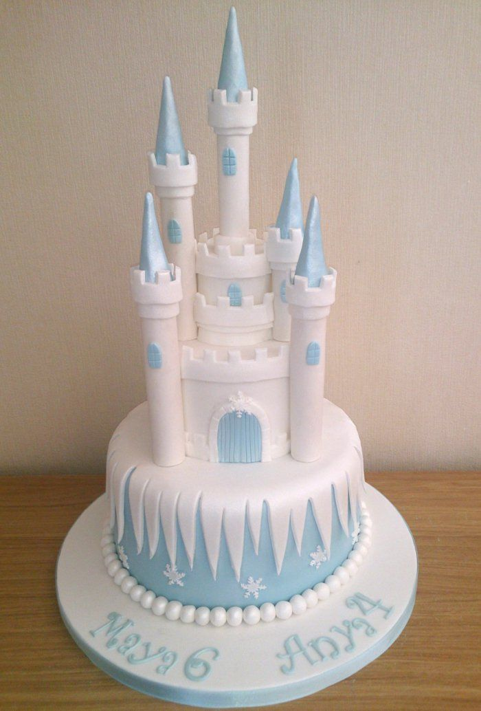 Kit gateau chateau reine des neiges