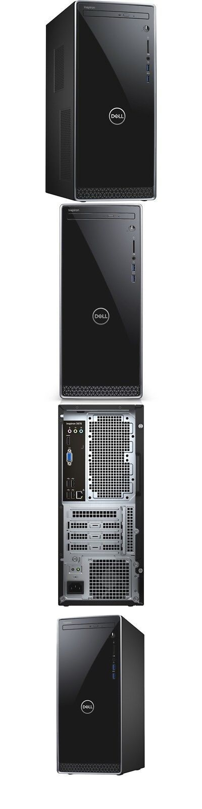 Desktops and All-In-Ones 171957: Dell Inspiron 3670 Intel