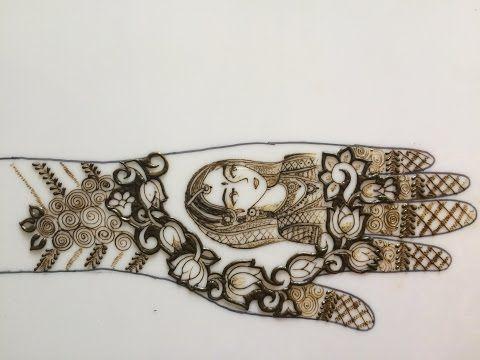harin dalal mehndi inspired gauri vrat occasion special cute little girl henna design tutorial. Black Bedroom Furniture Sets. Home Design Ideas