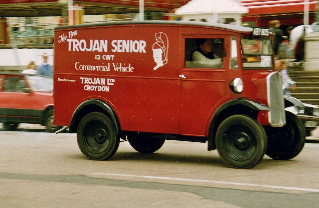 trojan at brighton   Vintage, Cars and Vans