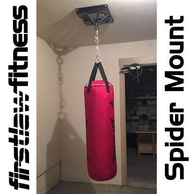 Spider Mount Heavy Bag Hanger Home Gym Design Dream Home Gym Gym Room At Home