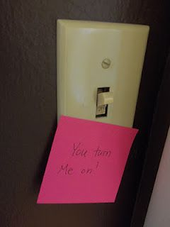 woo your man: post-it love
