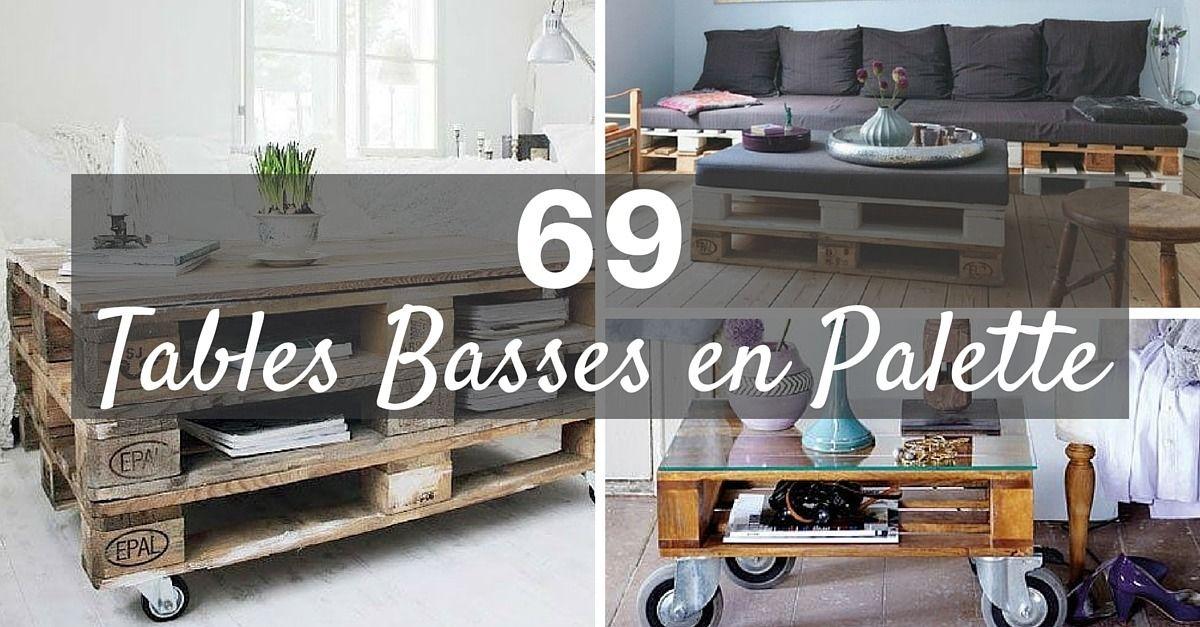 table basse palette top69 des idees