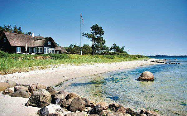 Traumhaftes Ferienhaus Danemark Direkt Am Meer Ferienhaus Danemark Ferien Ferienhaus Am Strand