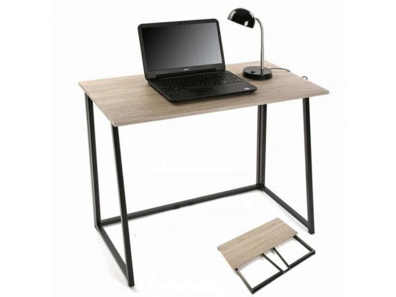 Bureau book noir et imitation chêne mobilier de bureau les