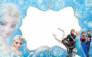 Marcos De Frozen Para Poner Fotos E Imprimir Descargar
