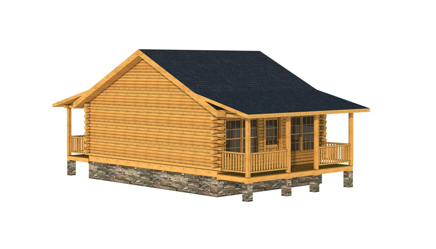 Pickens Log Home Cabin Plans Southland Log Homes Log Cabin