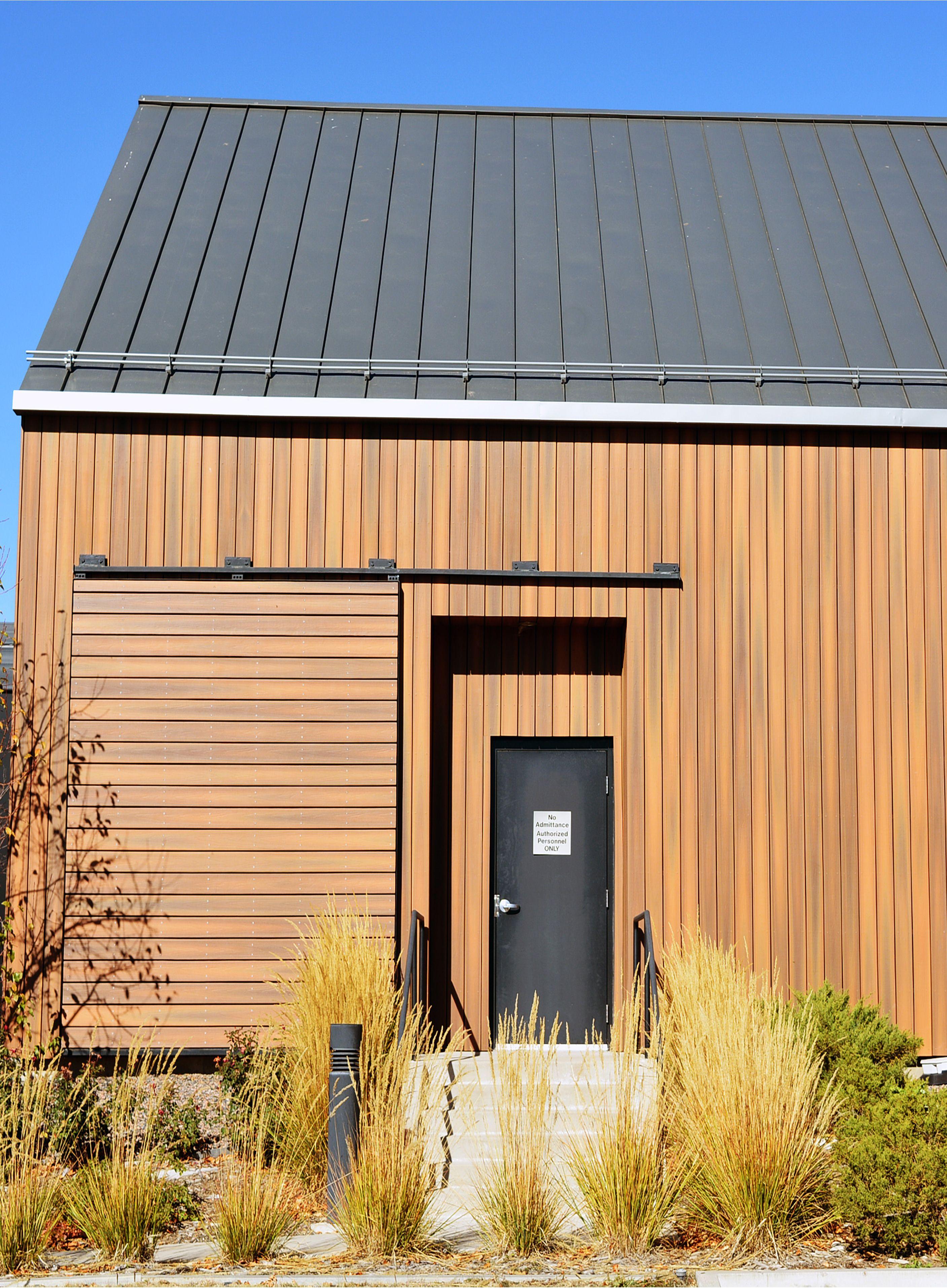 Composite Wood Cladding Versus Fiber Cement Siding Take A Look Cladding Small House Exteriors Cedar Cladding