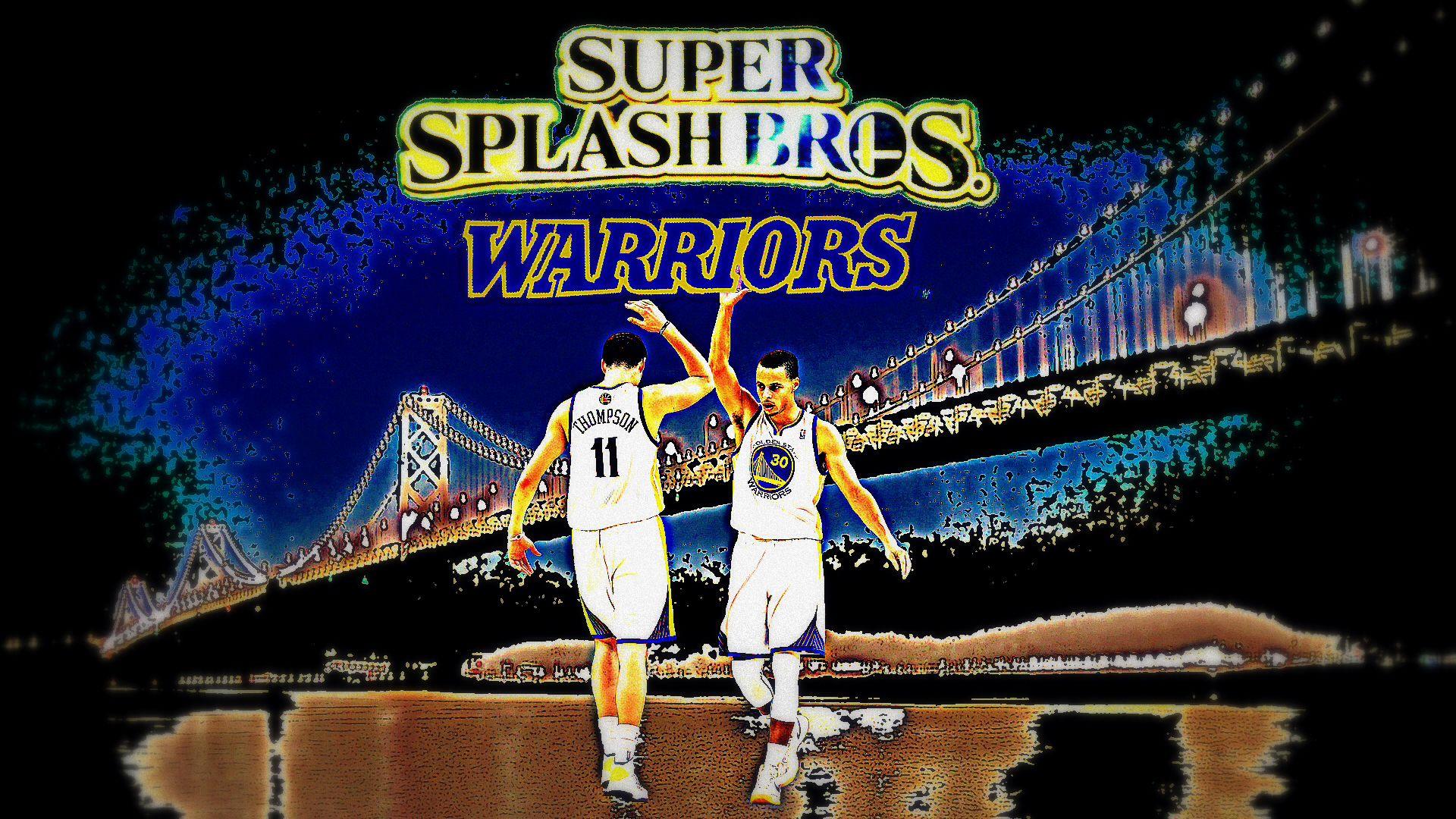 super SPLASH bros.!!!!   #LetsGoWarriors   Thompson golden ...
