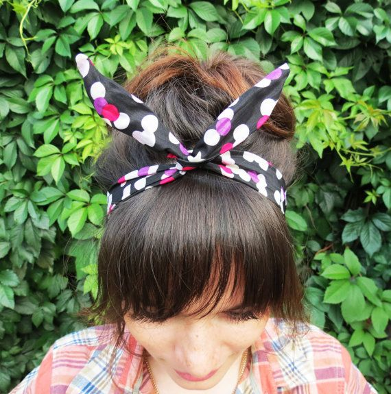 Check out this item in my Etsy shop https://www.etsy.com/ru/listing/245673565/multicolor-headband-pin-up-headband-kids