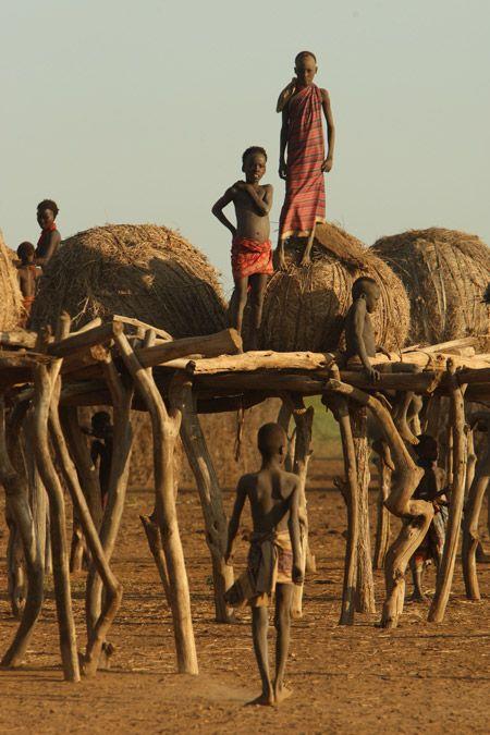 Dassanech tribe in Ethiopia