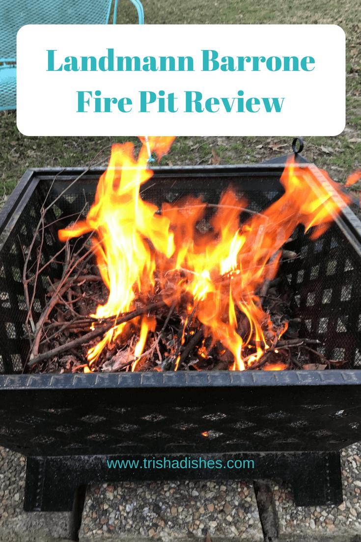 Landmann Barrone Fire Pit Review Trisha Dishes Fire Pit Video Fire Pit Gallery Fire Pit