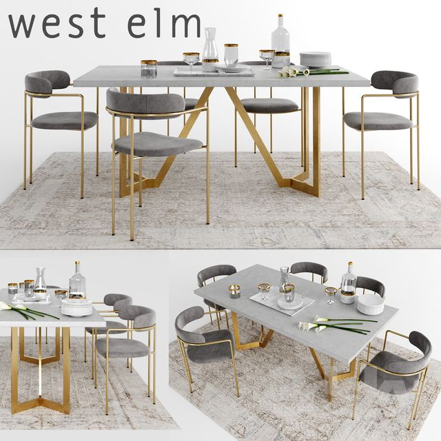 West Elm Dining Chairs, West Elm