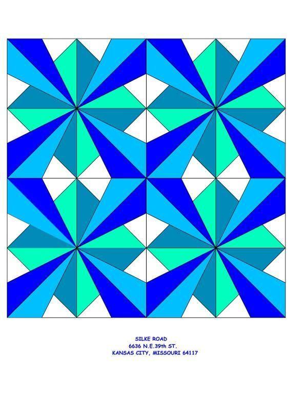 3d Millenium Star Quilt Block Pattern Star Quilt Blocks Star