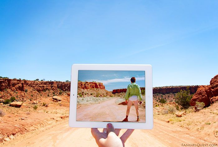 We Travel To Famous Movie Locations And Photograph Them In Real Life